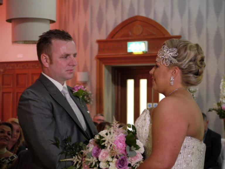 Kelly And Patrick – Crowne Plaza Belfast