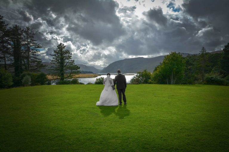 Diane and Cathal (Glenveagh Castle)