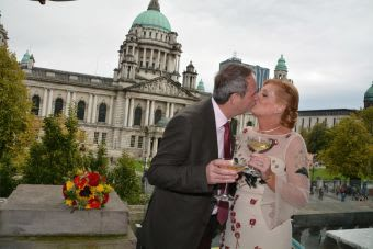 Belfast City Hall wedding photos